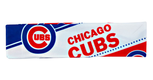 Chicago Cubs Stretch Patterned Headband
