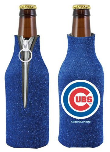 Chicago Cubs Bottle Suit Holder - Glitter