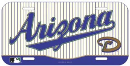 Arizona Diamondbacks License Plate