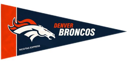 Denver Broncos Mini Pennants - 8 Piece Set