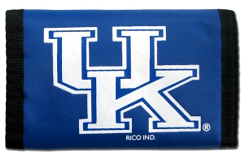 Kentucky Wildcats  Nylon Trifold Wallet