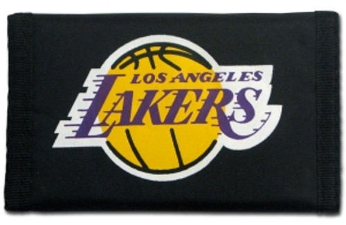 Los Angeles Lakers Nylon Trifold Wallet