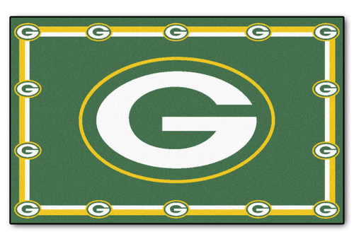 Green Bay Packers Area Rug - 4'x6'