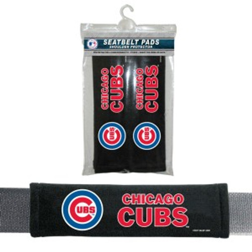 Chicago Cubs Velour Seat Belt Pads