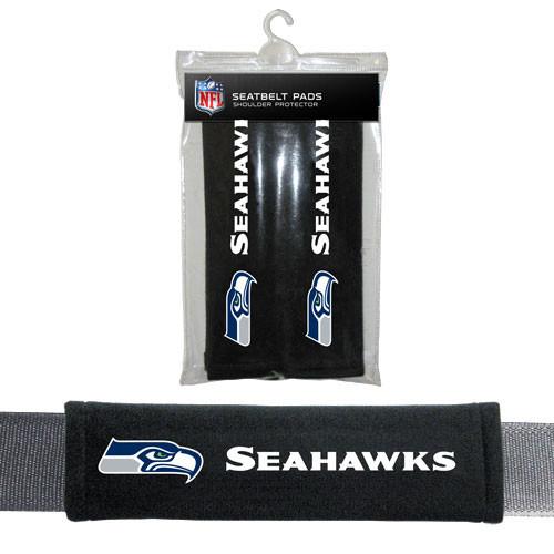Seattle Seahawks Seat Belt Pads Velour