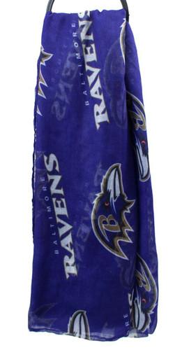 Baltimore Ravens Infinity Scarf