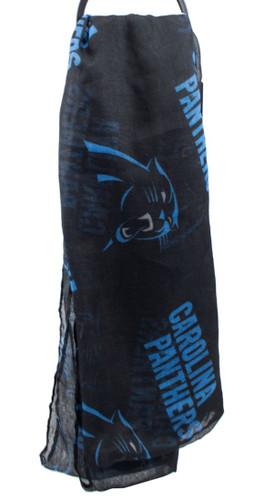 Carolina Panthers Infinity Scarf