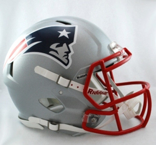 New England Patriots Helmet Riddell Authentic Full Size Speed Style