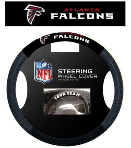 Atlanta Falcons Steering Wheel Cover - Mesh