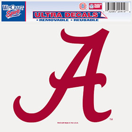 Alabama Crimson Tide Decal 5x6 Ultra Color