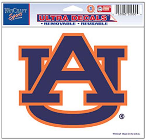 Auburn Tigers Decal 5x6 Ultra Color