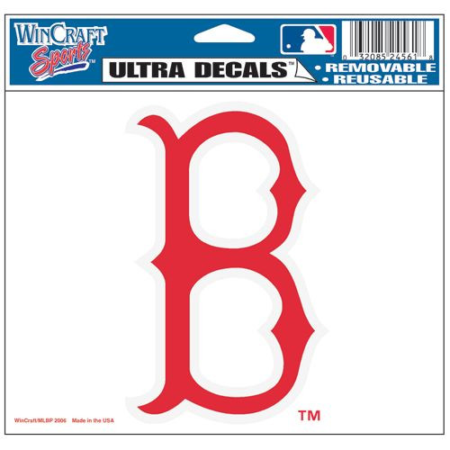 "Boston Red Sox 5""x6"" 'B' Ultra Decal"