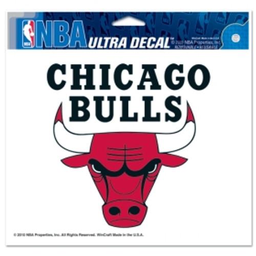 Chicago Bulls Decal 5x6 Ultra