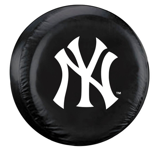 New York Yankees Black Tire Cover - Size Large