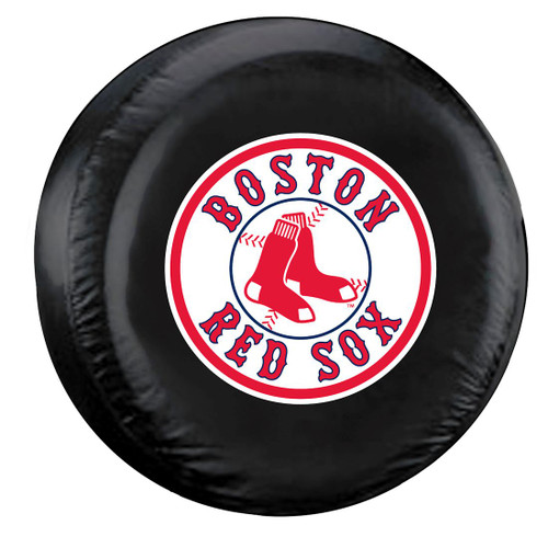 Boston Red Sox Black Tire Cover - Standard Size