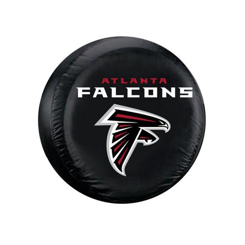 Atlanta Falcons Black Tire Cover - Standard Size