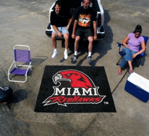 Miami of Ohio Redhawks Area Rug - Tailgater