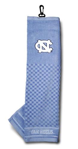 """North Carolina Tar Heels 16""""x22"""" Embroidered Golf Towel"""