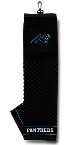 "Carolina Panthers 16""x22"" Embroidered Golf Towel"