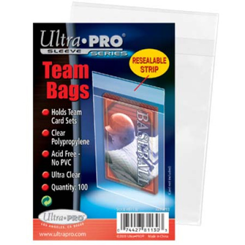 Ultra Pro Team Bags (100 per pack)