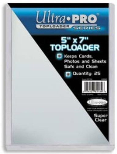 "Top Loader - 5""x7""  (25 per pack)"