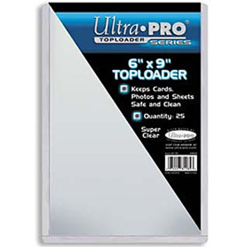 "Top Loader - 6""x9"" (25 per pack)"