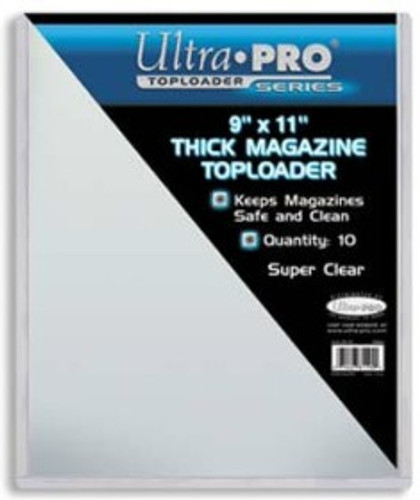 "Top Loader -  9""x11 1/2"" Magazine (10 per pack)"