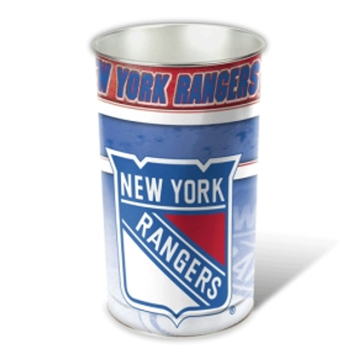 "New York Rangers 15"" Waste Basket"