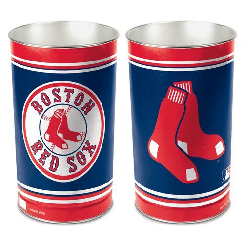 "Boston Red Sox 15"" Waste Basket"