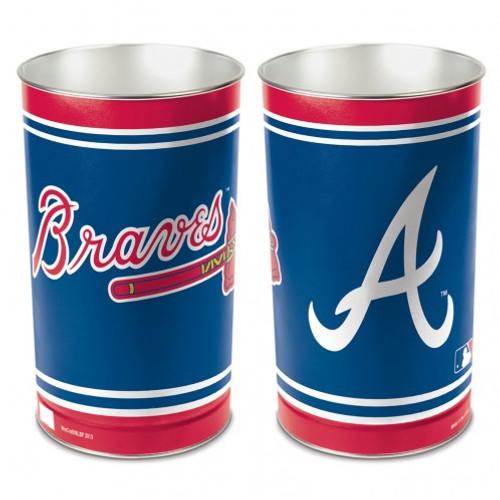 "Atlanta Braves 15"" Waste Basket"