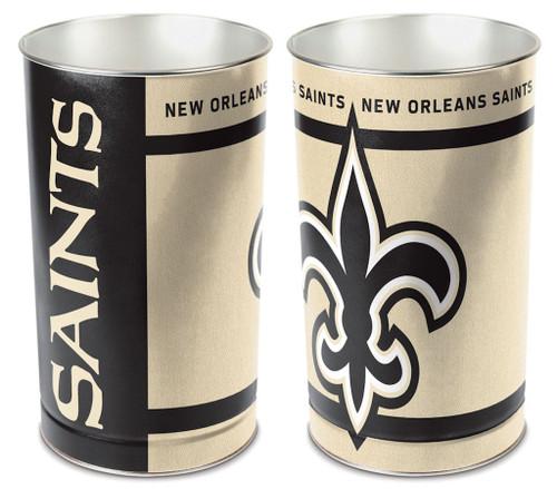 """New Orleans Saints 15"""" Waste Basket"""