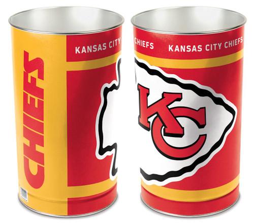 "Kansas City Chiefs 15"" Waste Basket"