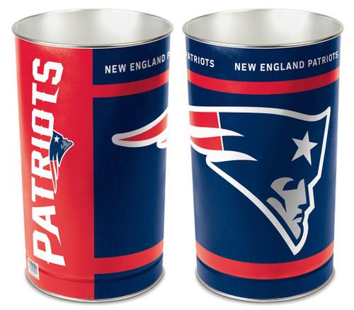 "New England Patriots 15"" Waste Basket"