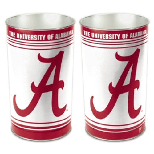 "Alabama Crimson Tide 15"" Waste Basket"