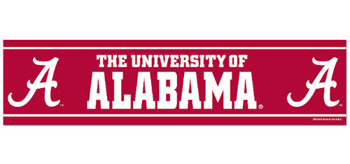 Alabama Crimson Tide Bumper Sticker