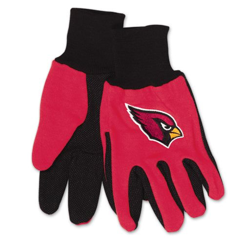 Arizona Cardinals Two Tone Adult Size Gloves