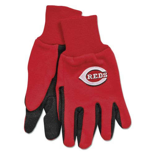 Cincinnati Reds Two Tone Gloves - Adult Size