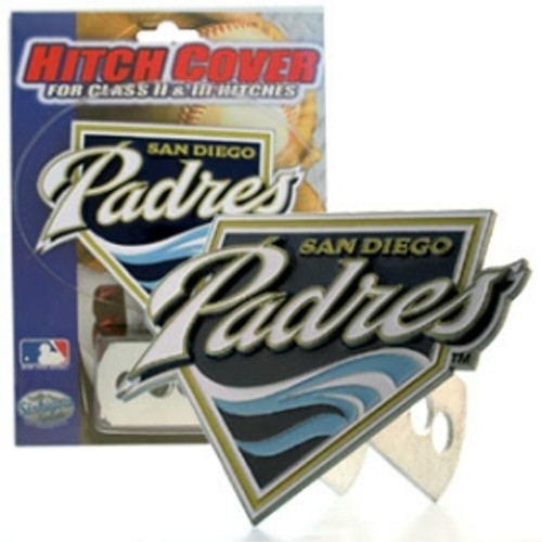 San Diego Padres Trailer Hitch Cover - Logo