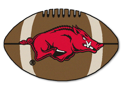 Arkansas Razorbacks Football Mat 22x35
