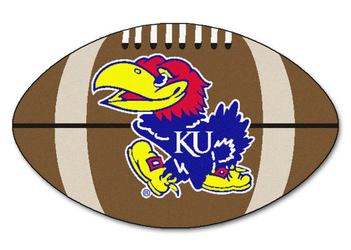 Kansas Jayhawks Football Mat 22x35
