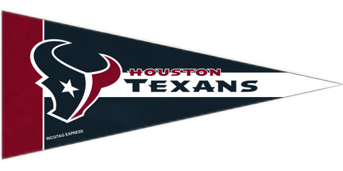 Houston Texans Mini Pennants - 8 Piece Set