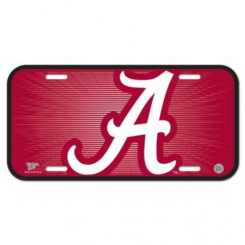 Alabama Crimson Tide License Plate