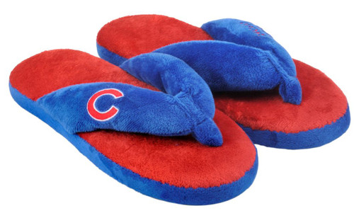 Chicago Cubs Slippers - Womens Thong Flip Flop (12 pc case)