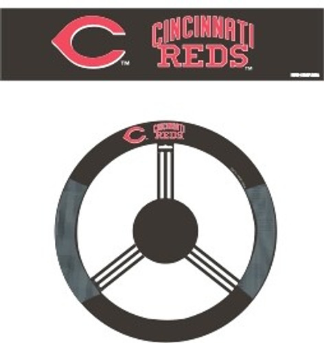 Cincinnati Reds Steering Wheel Cover - Mesh