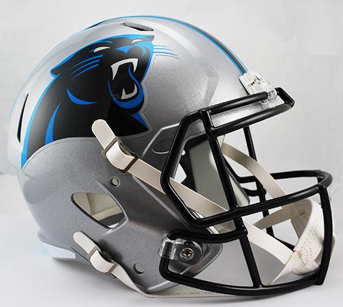 Carolina Panthers Deluxe Replica Speed Helmet