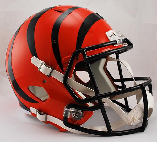 Cincinnati Bengals Deluxe Replica Speed Helmet
