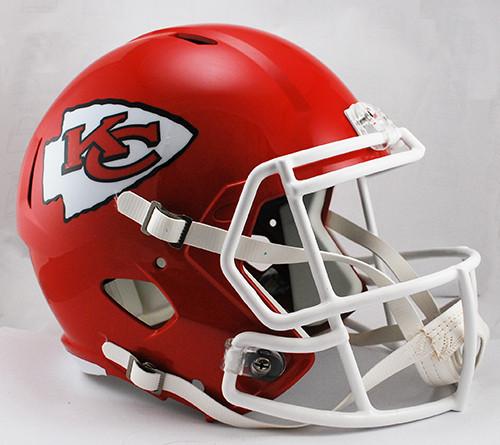 Kansas City Chiefs Deluxe Replica Speed Helmet