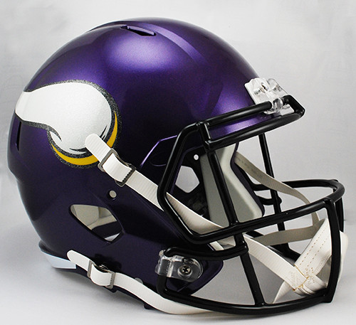 Minnesota Vikings Deluxe Replica Speed Helmet