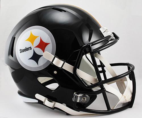 Pittsburgh Steelers Deluxe Replica Speed Helmet