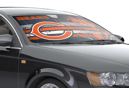 "Chicago Bears Auto Sun Shade - 59""x27"""